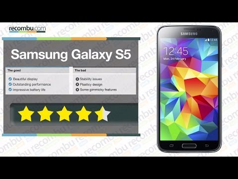 Samsung Galaxy S5 review: World-exclusive full review