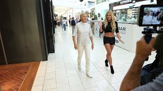 Ellen and Britney Spears At The Mall