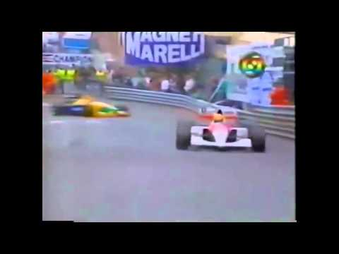 F1: Senna, Monaco igazi kirlya - vide