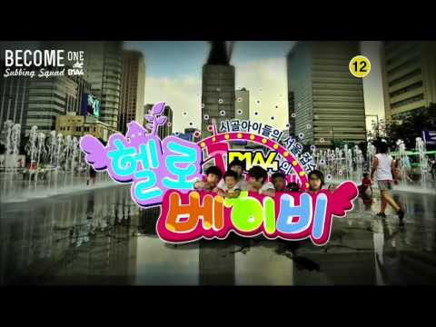 [B1SS] 120907 Hello Baby Season 6 with B1A4 - Episode 7 (3/4)