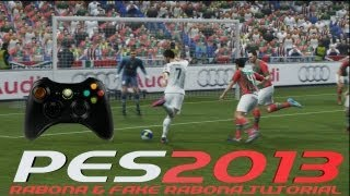 PES 2013 Rabona Shot & Fake Rabona Tutorial