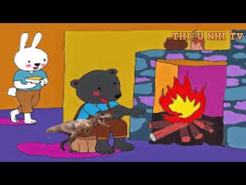 truyện  Bác gấu đen và hai  chú thỏ -truyen bac gau den va hai chu tho - Thiếu nhi TV