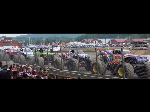 Meet the monster trucks bloomsburg,pa 7-12-14 RND 1