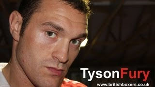 Interview With Tyson Fury On His Career And Becoming