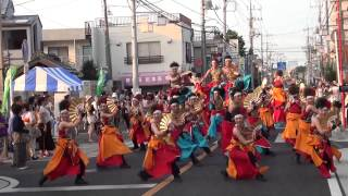 第13回(2013年)坂戸よさこい2日目【仲町・本町会場】銀輪舞隊
