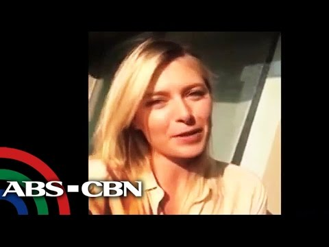 Sharapova greets Pinoy fans