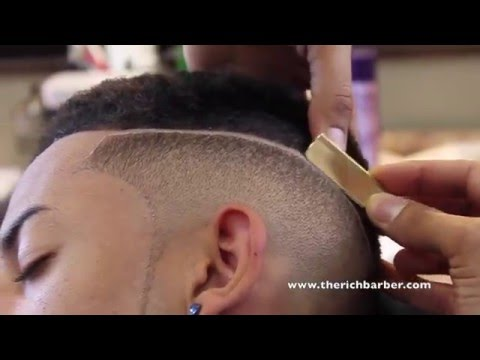 SMOOTH HIGHTOP FADE W/ PART BY CHUKA THE BARBER