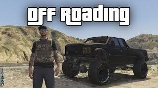GTA 5 Online Best Off Roading Spot Sandking Mudding