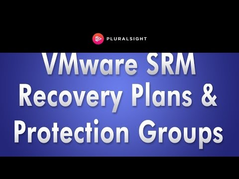 How to Create VMware Recovery Plans and Protection Groups