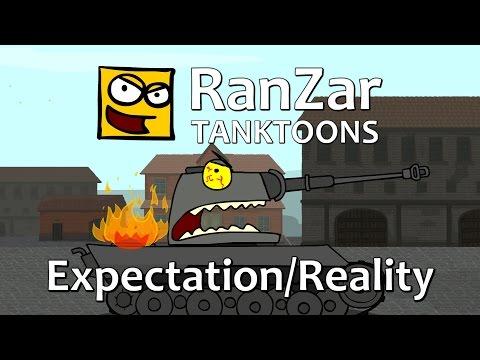 Tanktoon - O�ak�vania vs Realita