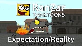Tanktoon - Očakávania vs Realita