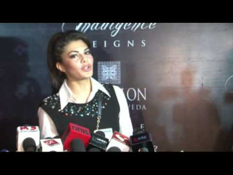 UNVEILING OF INDIA'S 1ST 'SPA CEYLON' BY JACQUELINE FERNANDES