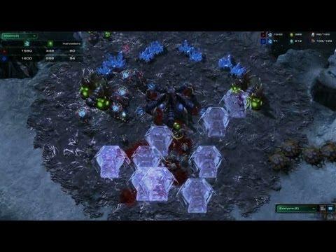 Battle Report по Heart of the Swarm! Обновлено.