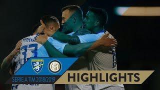 FROSINONE 1-3 INTER | HIGHLIGHTS | Three goals, three points!