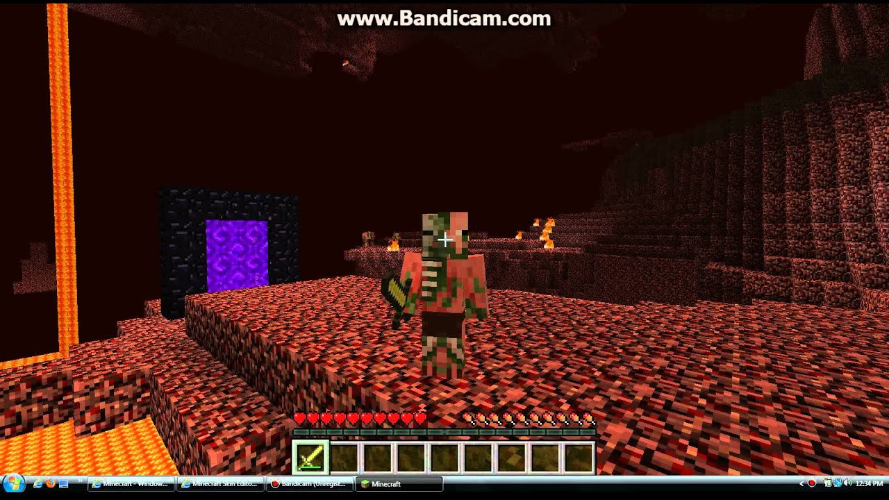 Minecraft Zombie Pigman Real LifeReal Life Minecraft Zombie Pigman
