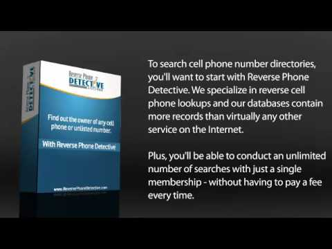 How to trace a cell phone number to a name for free registration