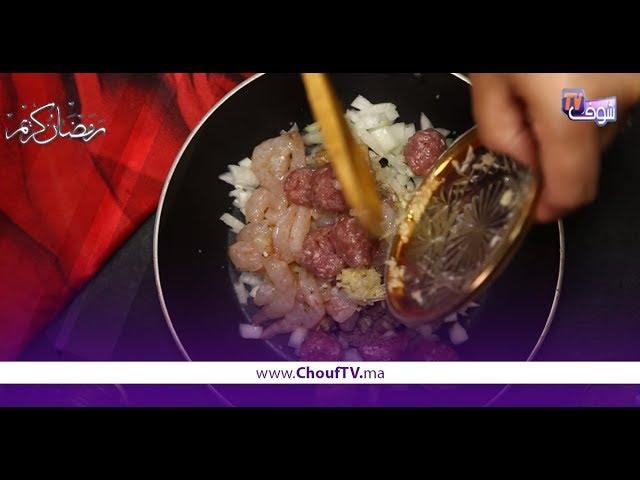 شهيوة فدقيقة..طريقة سهلة لتحضير شربة السمك والكفتة | شهيوة فدقيقة