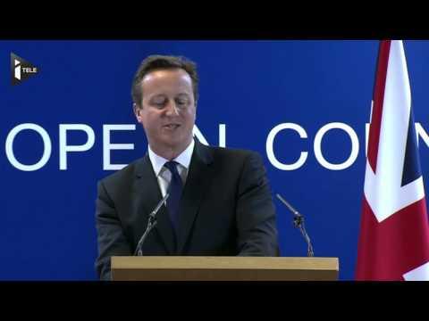 J.-C. Junker élu, J. Cameron isolé au sein de l'UE