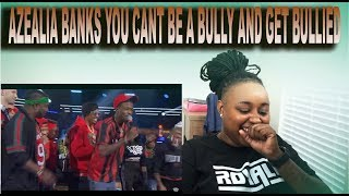 AZEALIA BANKS PLAYED VICTIM ON NICK CANNON WILDIN OUT EPISODE... HOW CAN A BULLY GET BULLIED?