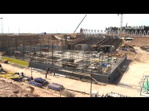 На строительстве БелАЭС выполнено 5% от общего объема работ