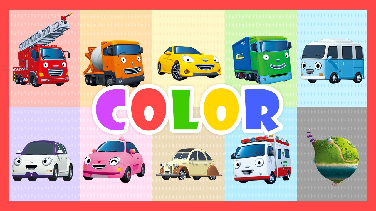 color song learn colors with tayo the little bus