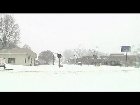 Another deadly snow storm causes chaos in the US