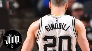 Rachel Nichols Calls Manu Ginobili 'Special' | The Jump | ESPN
