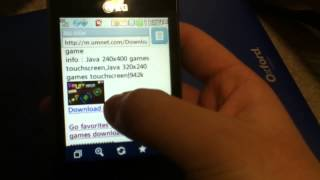 LG 840G Downloading Free Games And Apps
