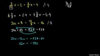 Težje enačbe 4