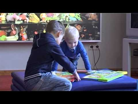 Смотреть видео Занятия  в Вентспилской библиотеке