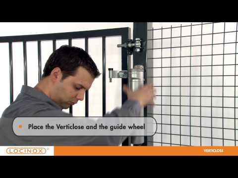 Locinox Locinox® VERTICLOSE Gate Closer - Standard 180 degree opening