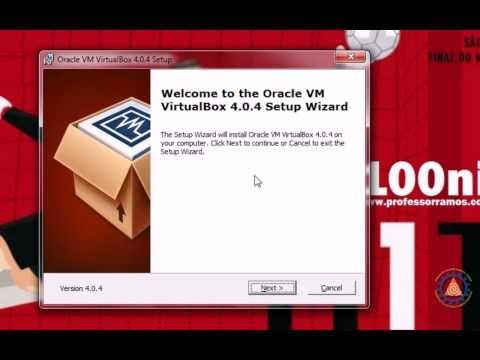Virtual BOX - Como criar uma maquina Virtual com Oracle VirtualBox 4.0.4