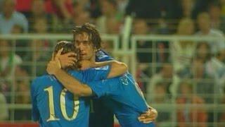 7 settembre 2005 - La tripletta di Toni Bielorussia-Italia 1-4 - Almanacchi Azzurri