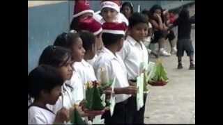 Escuela Diez De Agosto Acrostico De Navidad