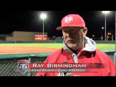 2014 Lobo Baseball | Coach Ray Birmingham: Post-Northern Illinois Press Conference