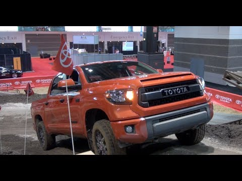 Watch the 2015 Toyota Tundra TRD PRO debut at the Chicago Auto Show
