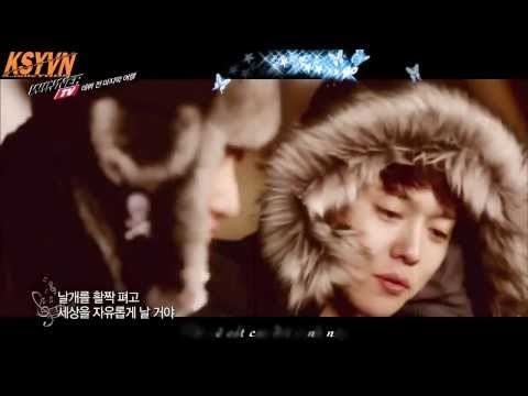 [Vietsub+Kara] 나는 나비 (A Flying Butterfly) - YB (WINNNER cover) [WINNER TV ep 10]