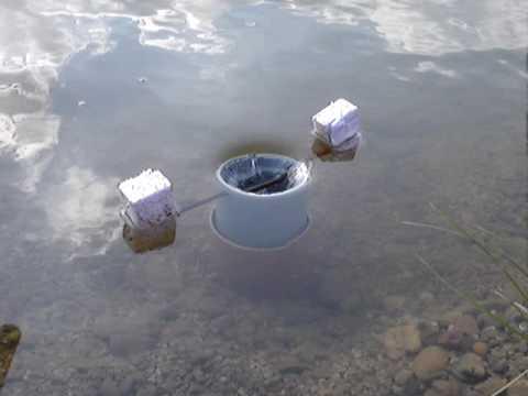 Pond skimmer youtube for Koi pond skimmer