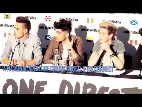 1D's big announcement (HUMOUR) | 'no more lion king questions please'