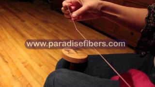 How To Navajo Ply On A Drop Spindle With Rachel From