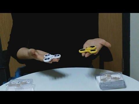Ceramic Vs Steel Bearing  Hand Spinner Fidget Toy Review