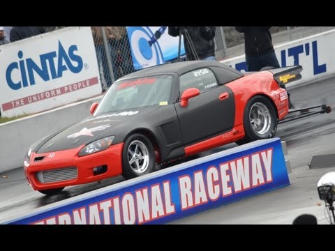 S2000 World RECORD - Red Star Motoring S2King, 7.32 @ 192 Mph!