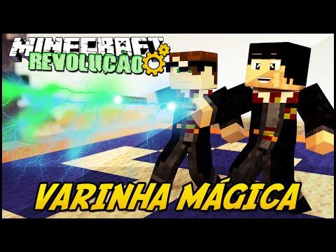 Minecraft: A REVOLUÇÃO - VARINHA MÁGICA! #67