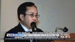 Suab Hmong News: Dr. Shoua Yang Speech At National Hmong