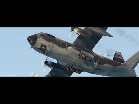 Flight Sim funny Challenge - Land a C130 on a Carrier!
