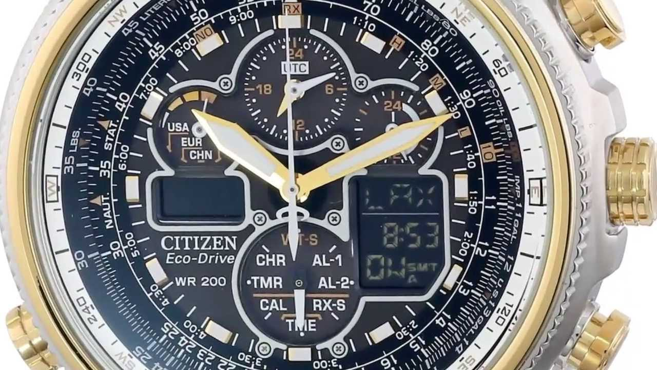citizen eco drive chronograph manual