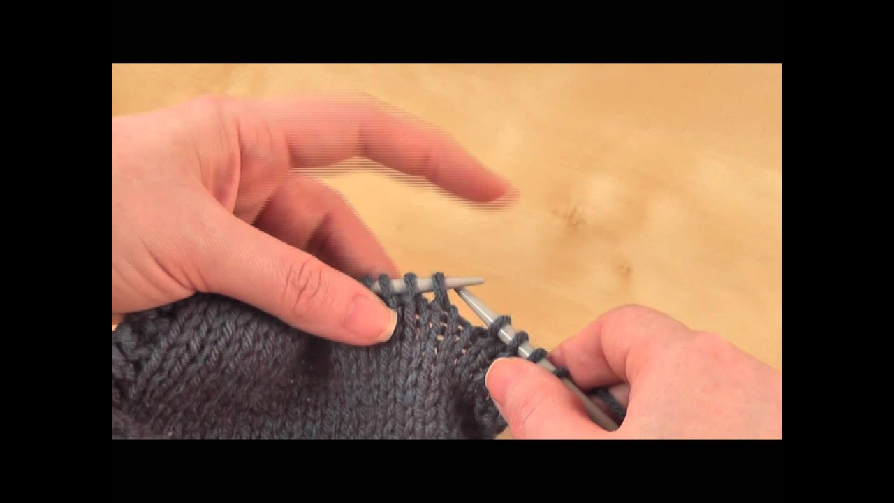Knitting Ssk Stitch : How to slip knit ssk youtube
