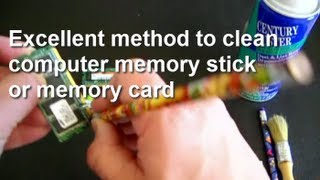 How To Clean A Memory Stick