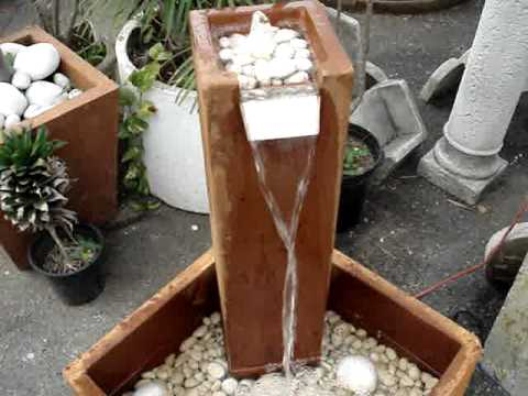 Fuentes modernas puerto rico youtube - Fuentes de jardin modernas ...