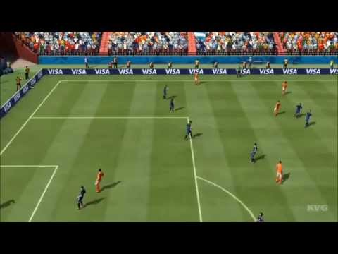 2014 FIFA World Cup Brazil - Netherlands vs Argentina Gameplay [HD]